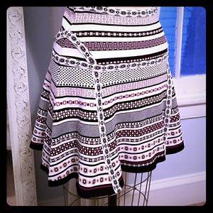 Diane Von Furstenberg spandex skirt